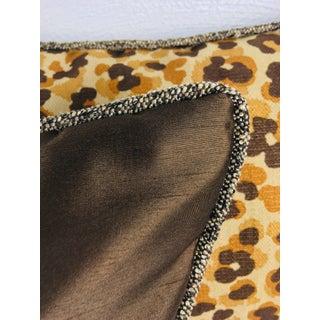 Contemporary Cheetah Print Cotton Lumbar Pillows – a Pair Preview