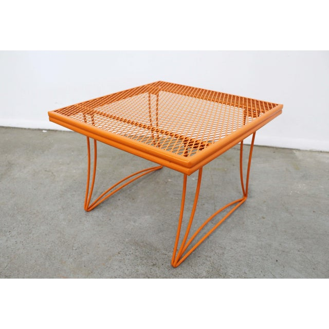 Mid-Century Modern Mid-Century Modern Homecrest Bottemiller Metal End Table 1521 For Sale - Image 3 of 8