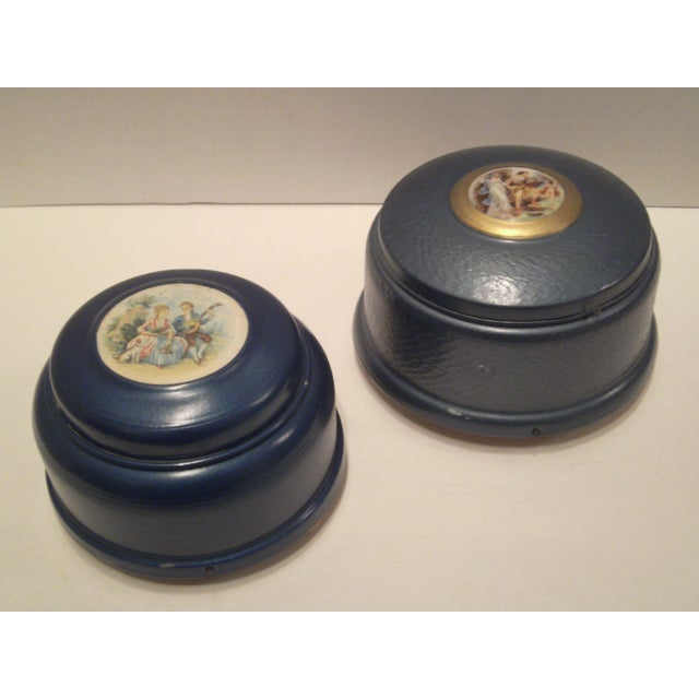1940's Musical Powder Boxes - Image 2 of 8