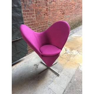 Verner Panton Style Heart Chair Preview