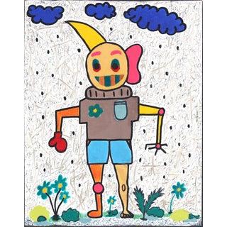 """Figure 1"" Original Artwork by Alex Reagan For Sale"