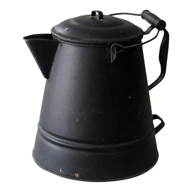 Vintage Sarreid Ltd Tin Hot Water Pot - Image 1 of 2