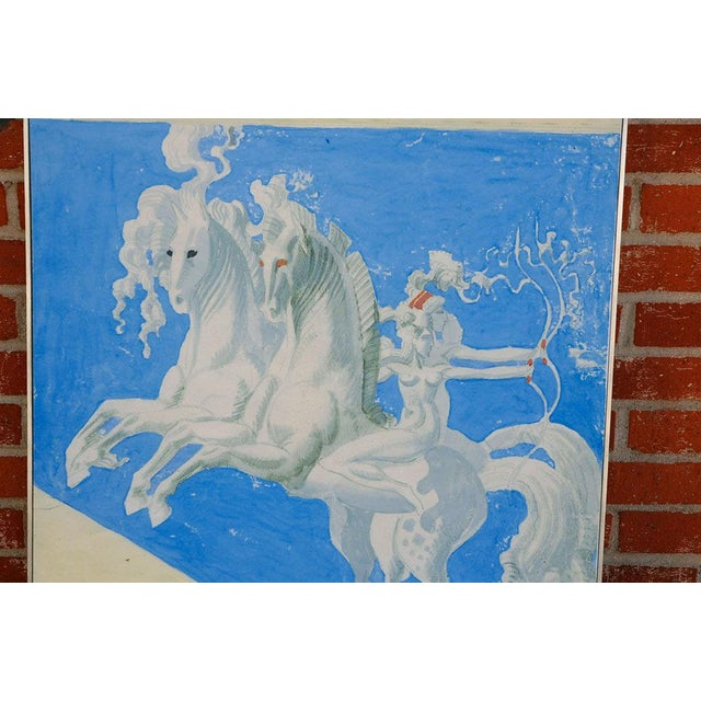 Large William Haines Canvases Drawing For Sale - Image 9 of 10