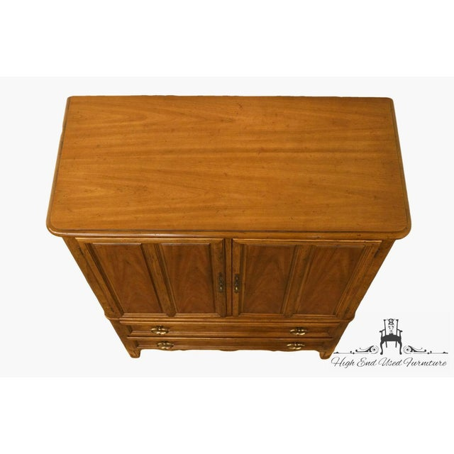 Drexel Heritage Late 20th Century Vintage Heritage Tuscan Italian Provincial Chest For Sale - Image 4 of 13