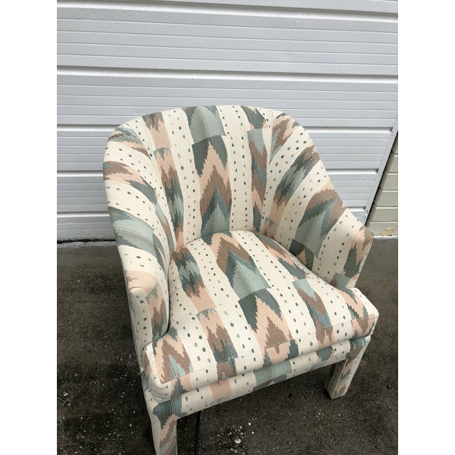Pearson Clyde Pearson for Lane Upholstered Club Chairs - A Pair For Sale - Image 4 of 8
