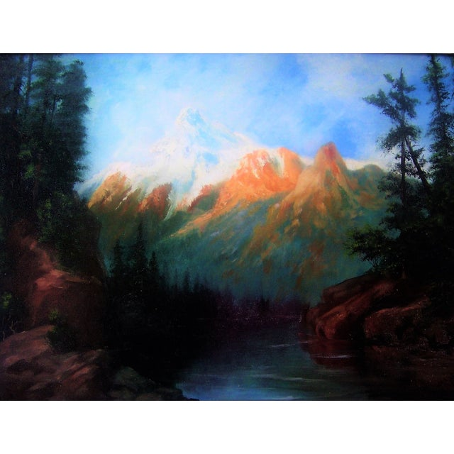 California Plein Air Landscape Painting 1960's - Image 3 of 5