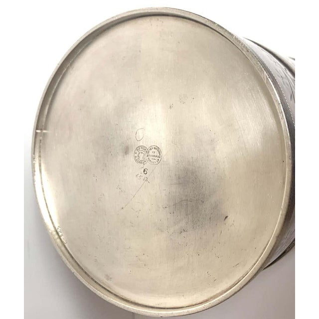 Traditional American Aesthetic Silver Plated Champagne/Ice Bucket, by Meriden Silver Co For Sale - Image 3 of 10