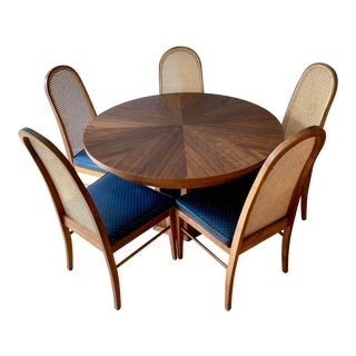 1960s Mid Century Modern Harvey Probber Dining Set - 7 Pieces For Sale