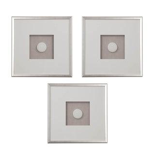Set of Three Hatcher, New Orleans, Framed Intaglios For Sale
