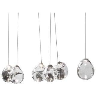M...' Blown Glass Pendants by Alex de Witte For Sale