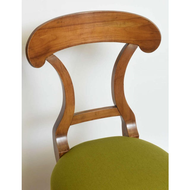 Early 19th Century Biedermeier Fruitwood Side Chair For Sale - Image 5 of 7