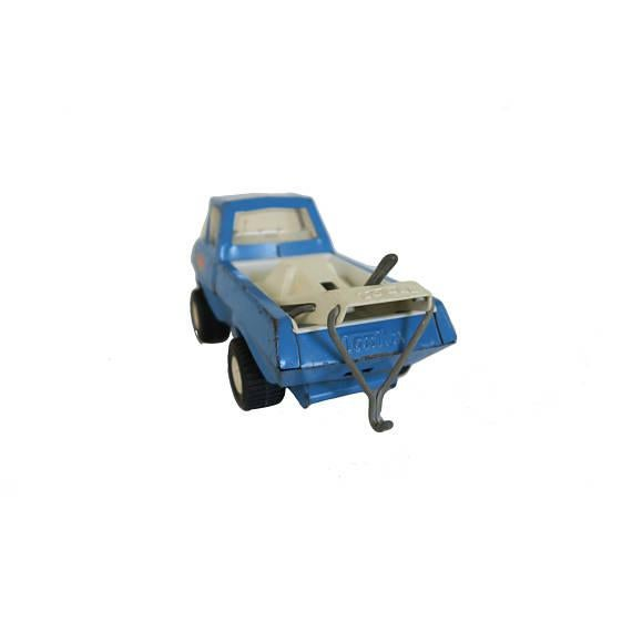 Children's Vintage Blue Tonka Tow Truck Toy For Sale - Image 3 of 3