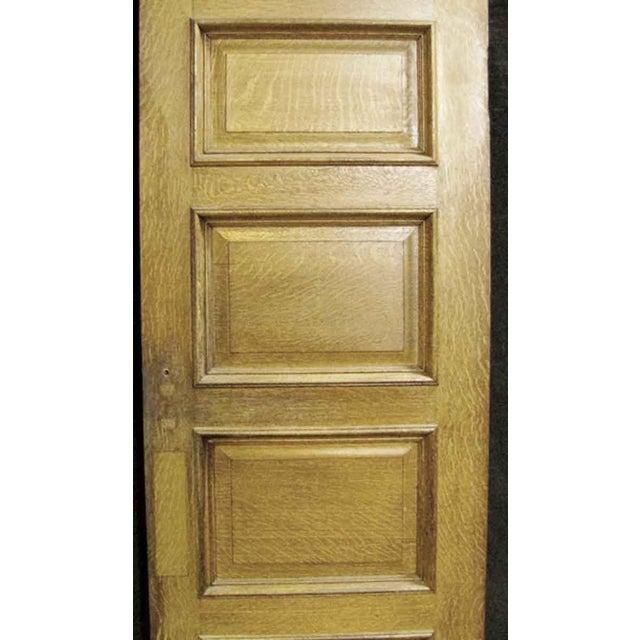 Four Panel Oak & Cypress Door - Image 6 of 6