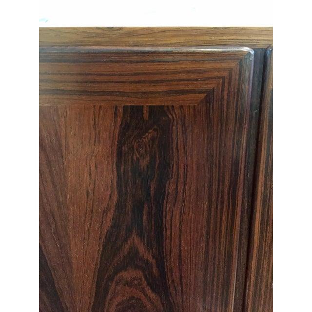Danish Modern Rosewood 2 Door Cabinet - Image 9 of 10