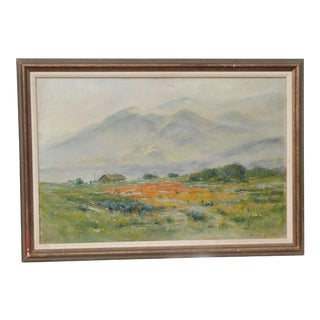 "Maxwell Robertson California Landscape Oil Painting - 30x20"" For Sale"