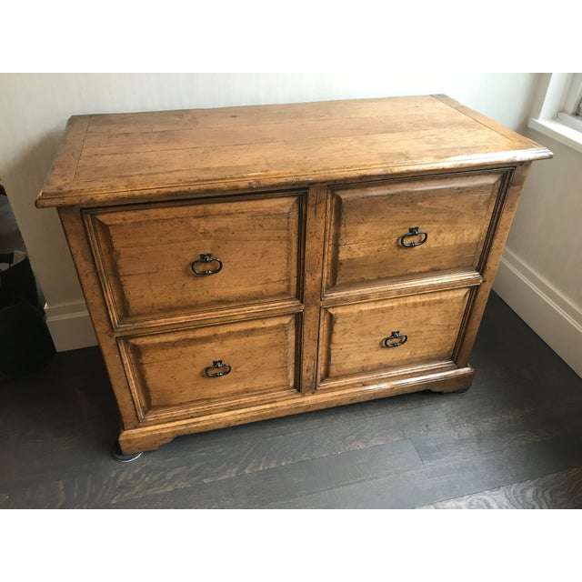 Sterling Collection Four Drawer File Cabinet For Sale - Image 9 of 9