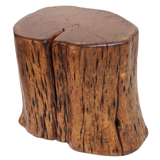 Kai Wood Stump Stool - Image 1 of 2