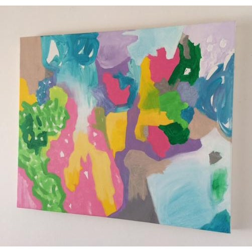 Abstract Expressionism Fruit Tree Painting For Sale - Image 3 of 3
