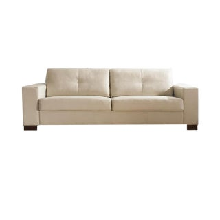 Contemporary Salvatore Hand Made Leather Sectional Sofa
