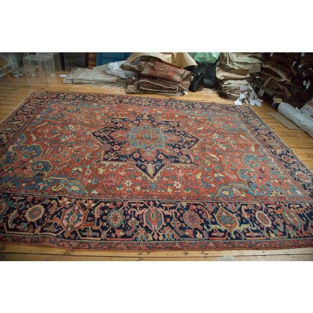 "Vintage Heriz Carpet - 9' X 11'8"" - Image 6 of 10"