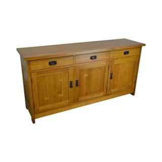Stickley Mission Oak Collection Sideboard For Sale