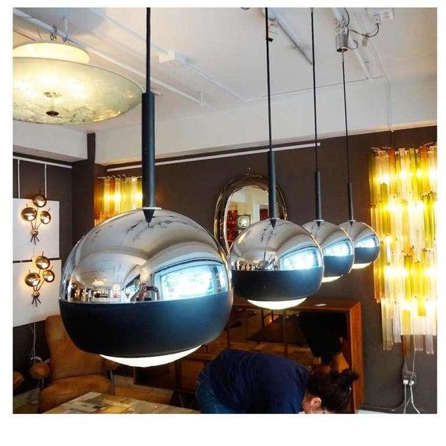 Stilnovo Set of Four Hanging Lamps Italy circa 1965 - Image 2 of 5