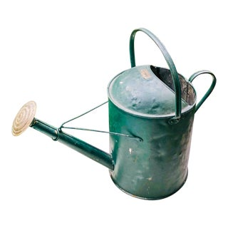 English Wellie Green Watering Can For Sale