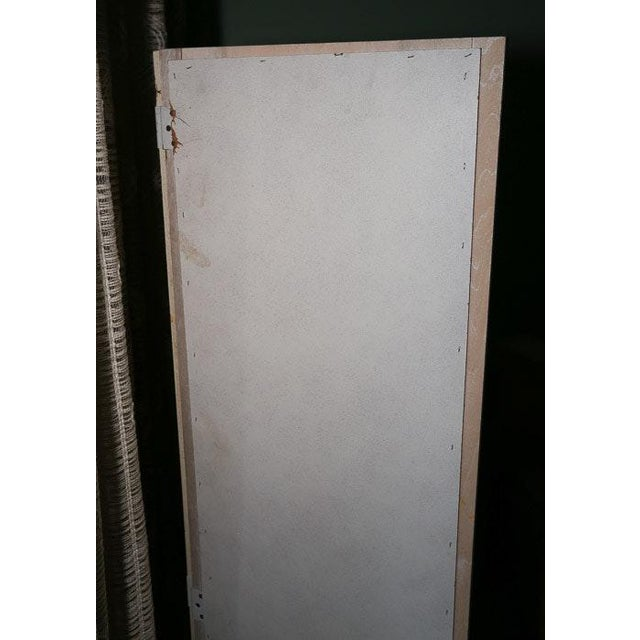 Mid-Century Modern Mid-Century Tri-Fold Mirrored Screen For Sale - Image 3 of 11