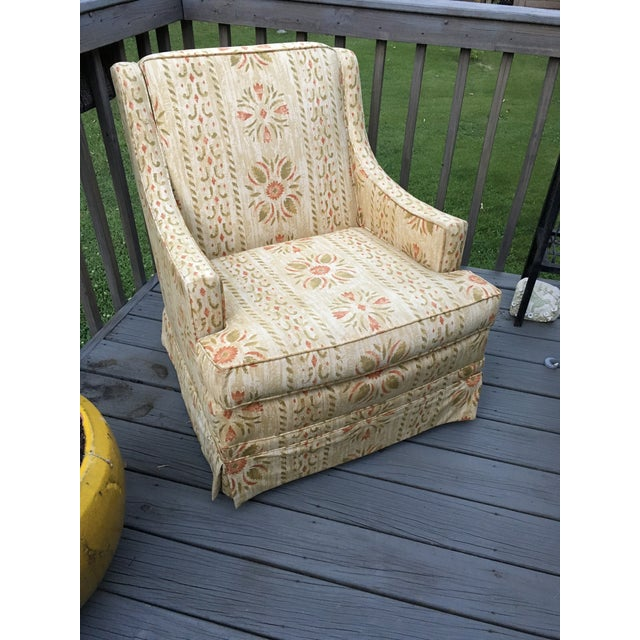 Clyde Pearson Vintage Swivel Chair For Sale - Image 11 of 11
