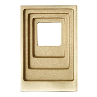 Nest Studio Collection Step-02 Satin Brass Knob For Sale