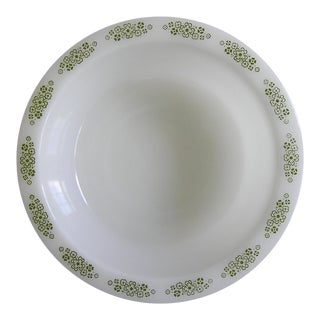Anchor Hocking Milk Glass Serving Bowl For Sale