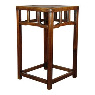 Ming Huanghuali Wood Plant Stand / Small End Table For Sale