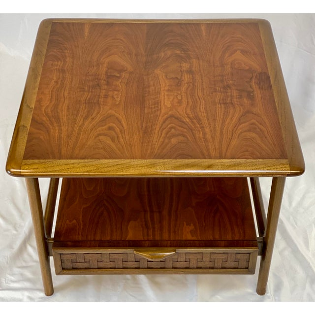 Mid-Century Modern Vintage Mid Century Modern Lane Perception Side Table / Nightstand For Sale - Image 3 of 11