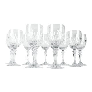Vintage French Cut Crystal Wine/Water Glass