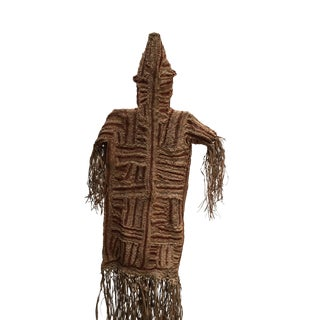 1960s African Art the Pende Spirit Dance Ceremonial Tribal Mask and Costume From Congo For Sale