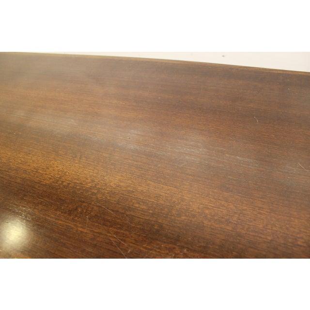 Mid-Century Danish Modern Adrian Pearsall Style Walnut Coffee Table - Image 7 of 11