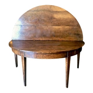 French Provincial Round Dining Table For Sale