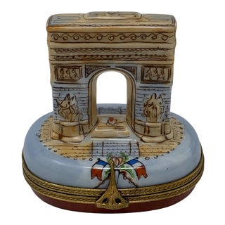 Arch De Triumph Rochard Limoges Box For Sale