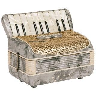 1950s Accordion Cigarette Box For Sale