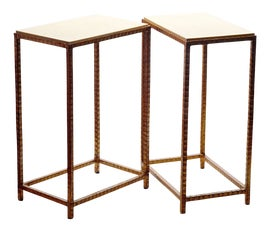 Image of Shagreen Side Tables