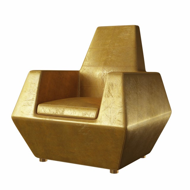 Not Yet Made - Made To Order Stealth Lounge Chair by Artist Troy Smith - Contemporary Design - Custom Furniture For Sale - Image 5 of 7