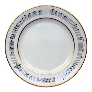 "Tiffany & Co Moon ""Breakfast at Tiffany's Henry Mancini"" River Salad Plate"