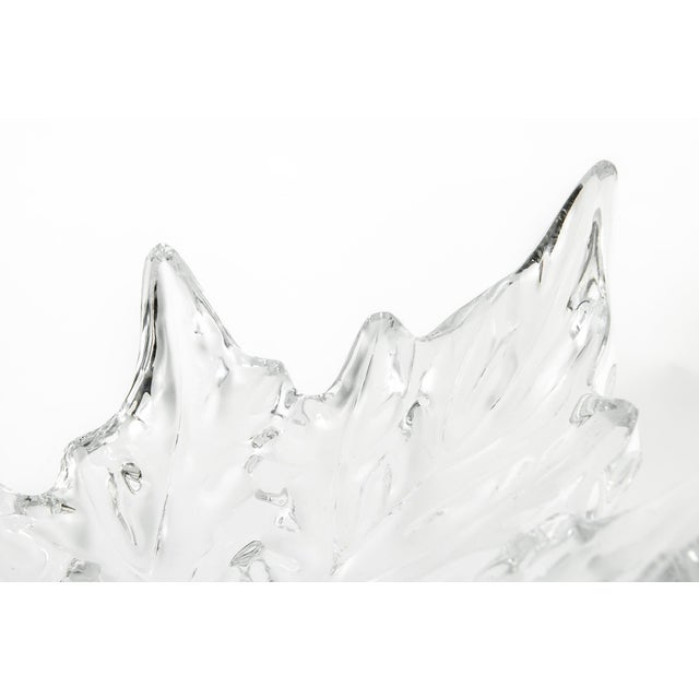Mid 20th Century Exquisitely Beautiful Lalique Center Piece Bowl For Sale - Image 5 of 6