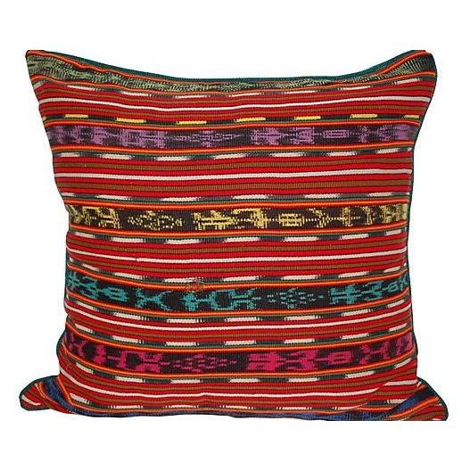 Guatemalan Textile Pillow - Image 1 of 2