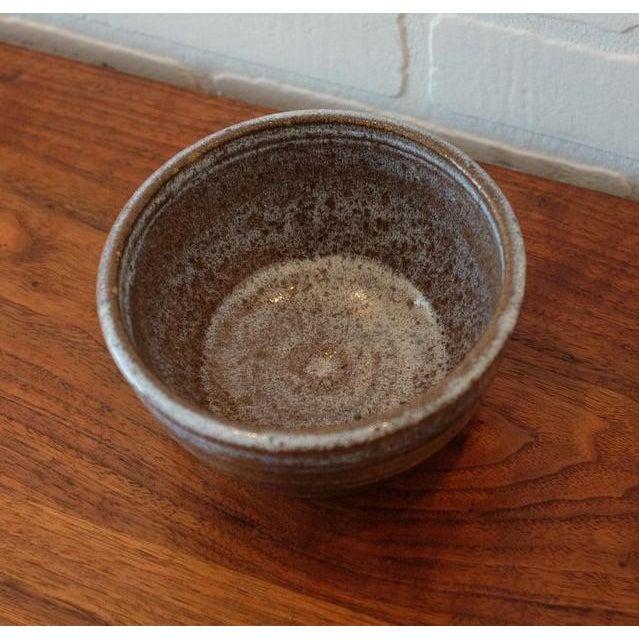 Handmade Studio Pottery Decorative Bowl For Sale - Image 4 of 6
