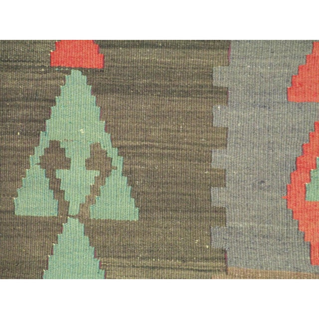 Islamic Vintage Kilim Pillow Cover For Sale - Image 3 of 3