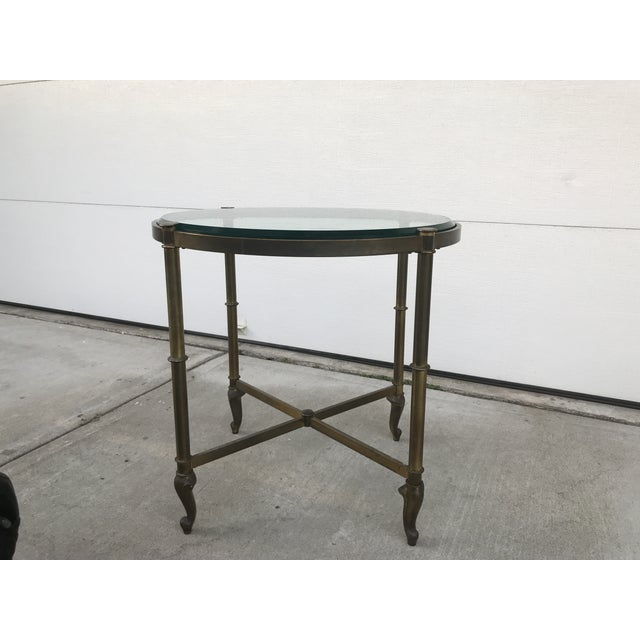 Regency Style Corner Table For Sale - Image 4 of 9