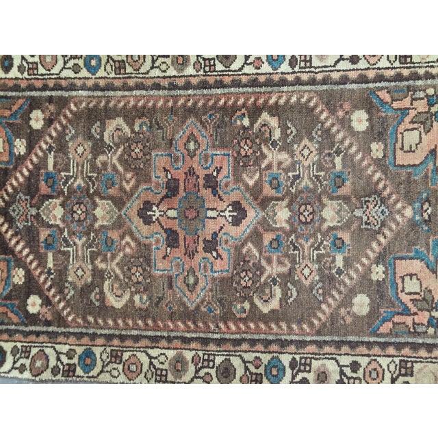 Vintage Hamadan Persian Rug - 1′11″ × 2′11″ - Image 4 of 9