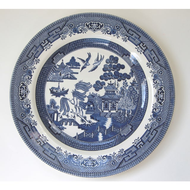 Blue Willow Churchill Dinner Plates - Set of 4 - Image 4 of 4