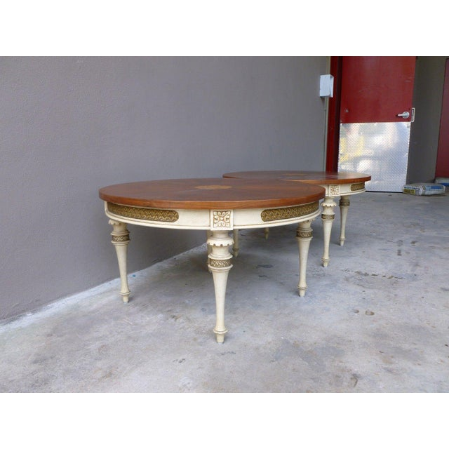 1950s Neoclassical Palladio Coffee Tables - a Pair For Sale In Miami - Image 6 of 13